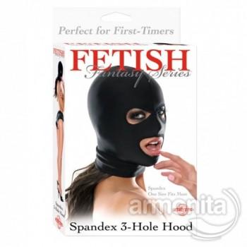 Spandex 3 Delikli Fetish Maske